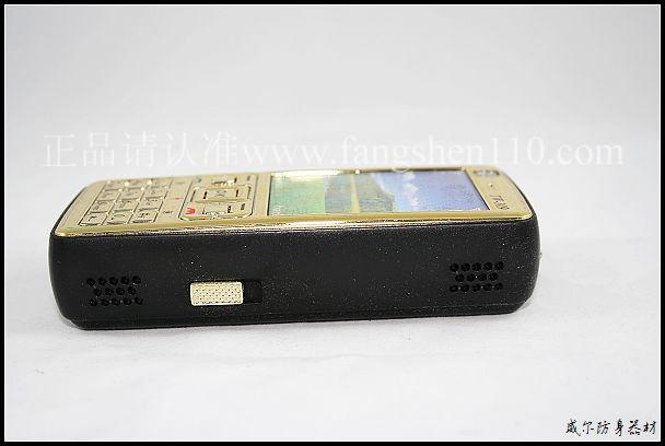 北京防身器材专卖_TW109黄金手机防暴器的电源开关