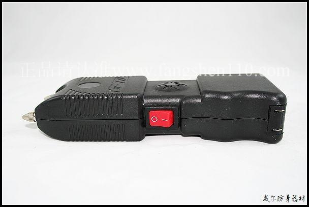 TW10高压防狼器的侧面开关图